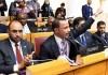 Bela Palestina di forum internasional Marzouk Ghanim dipuji Hamas
