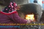 Bakar roti cara tradisional tradisi masyarakat Pal