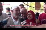 Pilgrimage Perpisahan jamaah haji Palestina dari Gaza.