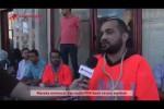 Pegawai UNRWA menggelar aksi protes di Gaza menolak keputusan Direktur Operasional UNRWA