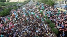 Demonstrasi kecam penindasan muslim Rohingnya di Pakistan dan Denmark