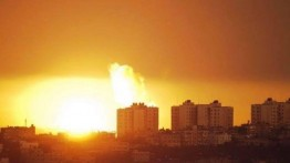 Dua pemuda luka-luka terkena pecahan rudal Israel di utara Gaza