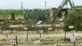 Israel putuskan untuk tidak mengubur warga Palestina yang terbunuh di 'pemakaman bernomor'
