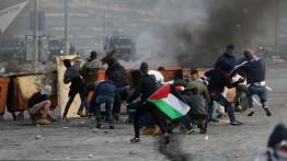 Di hari kelima, Protes terhadap keputusan Trump di Palestina terus berlanjut