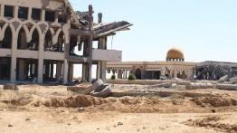 Setelah dihancurkan Israel, bandara Gaza berubah menjadi tempat pembuangan sampah