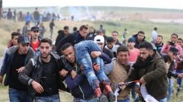 50 warga Palestina ditembak sniper Israel di perbatasan Gaza