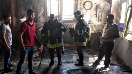 Sebuah masjid dibakar OTK di Neblus, Palestina