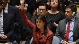 Lagi, AS kembali gagalkan resolusi DK PBB terkait perlindungan warga Palestina