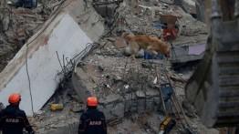 Jumlah korban bangunan runtuh di Turki mencapai 21 orang