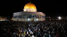 350.000 warga Palestina sambut malam lailatul qadr di Masjid al-Aqsa