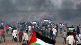Pesawat perang Israel rudal demonstran di Perbatasan Gaza