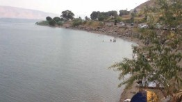 Israel dilanda kekeringan parah, dua pulau muncul di danau Tiberias