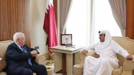 Mahmud Abbas adakan pertemuan dengan Amir Qatar untuk mendiskusikan Perjanjian Abad Ini