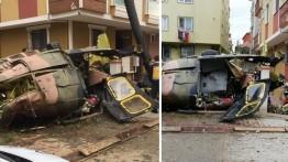 Empat prajurit Turki gugur dalam insiden jatuhnya helikopter militer