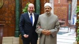 Bahas perkembangan di Yerusalem paska deklarasi AS, Hakim Palestina, Mahmoud Al-Habbash bertemu Grand Syaikh Al-azhar