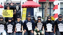 Arab Saudi mengeksekusi TKW Indonesia yang membunuh pria yang berusaha memperkosanya