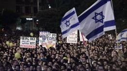 Selama 6 minggu berturut-turut warga Israel gelar aksi protes tuntut Netanyahu mundur