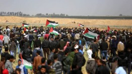 Aksi protes ''Great March of Return'' Minggu ke empat di Jalur Gaza, 4 gugur dan lebih 600 luka-luka