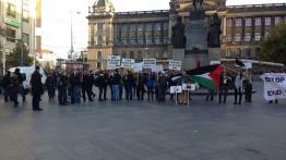 Rakyat Ceko gelar aksi solidaritas untuk Palestina