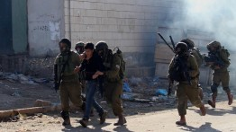 Demonstrasi menentang deklarasi Donald Trump minggu ke enam di Palestina, 292 luka-luka