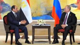 KTT Mesir-Rusia pertemukan As-Sisi dan Putin di Rusia