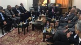 Rombongan Kementrian Informasi Palestina di Ramallah berkunjung ke Gaza