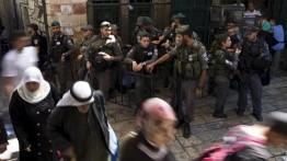 Polisi Israel cegah karyawan Badan Waqaf Islam memasuki Masjid Al-Aqsa