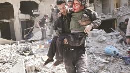 Selama bulan Februari, 746 warga Suriah gugur dalam konflik, 54% wanita dan anak-anak