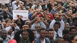 Migran Afrika di Israel protes rencana deportasi paksa