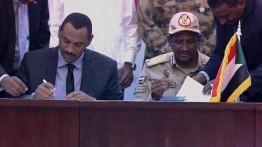 Tandatangani Deklarasi Konstitusi, Sudan mulai sejarah baru