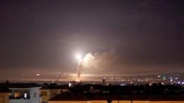 IDF serang bandara Damaskus
