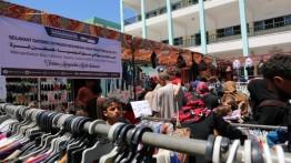 Pasar Indonesia-Palestina, pasar gratis rintisan masyarakat Indonesia jelang Idul Fitri di Palestina