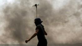 Bentrok di sejumlah wilayah Palestina, belasan luka-luka