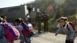 Militer Israel blokade sebuah sekolah di Neblus