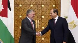 As-Sisi dan Raja Yordania Abdullah Ats-Tsani tegaskan dukungannya untuk kemerdekaan Palestina
