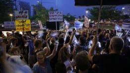 Unjuk rasa tuntun penyelesain kasus korupsi PM Netanyahu kembali digelar