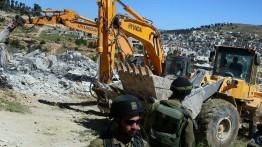 Tentara Israel serbu dan gusur gedung di kota al-ʻIsawiya, Al-Quds