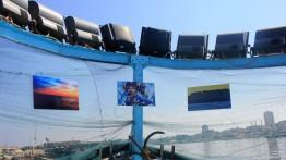 Pameran foto aktivitas nelayan di pelabuhan Gaza