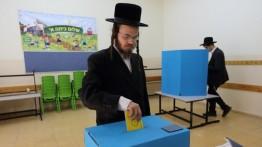Warga Israel memberikan suara untuk memilih anggota Knesset
