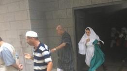 Korsleting berujung kebakaran, jamaah haji Palestina dievakuasi dari penginapan