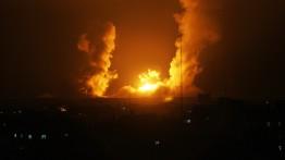 Israel kembali lancarkan serangan udara di lokasi Al-Qassam, Jalur Gaza pagi ini