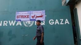 Pengungsi Palestina tutup kantor pusat UNRWA di Gaza
