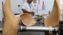 Lokakarya pembuatan anggota tubuh tiruan bagi penyandang cacat di Mesir