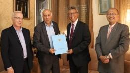Duta Besar Indonesia Andy Rachmianto kunjungi Ramallah