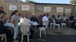 Kelaurga Shamasna terancam penggusuran, warga Palestina gelar aksi solidaritas