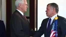 """Raja Abdullah II kunjungi Gedung Putih untuk bahas """"Kesepakatan Abad Ini''"""