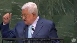Mahmud Abbas di depan Majelis PBB: Amerika mengkhianati perjanjian