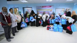 Sejumlah bayi Palestina berusia satu hari terima bantuan dari masyarakat Indonesia