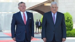 Raja Yordania kunjungi Palestina
