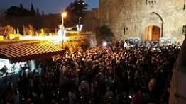 Aksi bela al-Aqsa di Yerusalem, 3 warga Palestian gugur dan 450 lainnya luka-luka